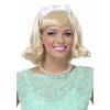 Women's 50's Blonde Flip Wig