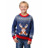 Reindeer LED Light Up Ugly Christmas Sweater for Boys