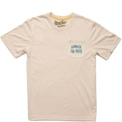Howler Bros Hill Country Sliders Pocket Tee Shirt Men's (Sand)