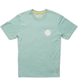 Howler Bros HTC Liquid Daydream Pocket Tee Shirt Men's (Seaspray)
