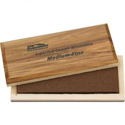 KME AO62F Bench Stone Medium/Fine Grit with Wood storage box