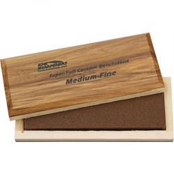 KME AO62F Bench Stone Medium/Fine Grit with Wood storage box