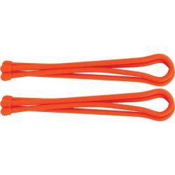 Nite Ize 01983 Indoor Outdoor Gear Tie with Rubber Construction - Orange