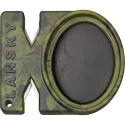 Lansky 48 Quick-Fix Crock Stick & Tungsten Carbide Sharpener With Camo Finish