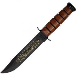 Ka-Bar 9168 U.S. Army OEF Afghanistan Fixed Blade Knife