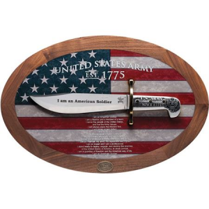 Case 15009 US Army Bowie Display Fixed Blade Knife