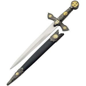 China Made 211207 Knights Of Templar Dagger Fixed Blade Knife