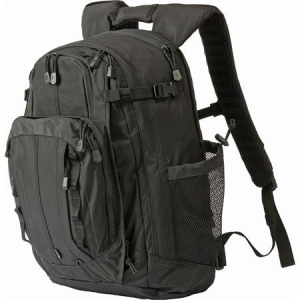 5.11 Tactical 56961019 Covert 18 Backpack Black Nylon Construction with Water Resistant Finish