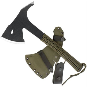 Condor 180936 Sentinel Axe Army with OD Green Cord Wrapped Handle