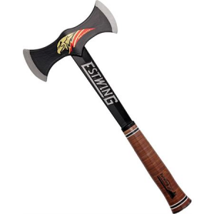 Estwing DBA Black Eagle Double Bit Axe with Steel Construction