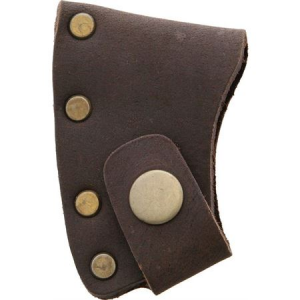 Prandi 706002 Axe Blade Cover with Brown Leather Sheath