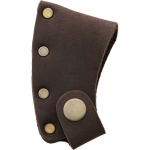 Prandi 706003 Axe Blade Cover with Brown Leather Sheath