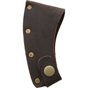 Prandi 706001 Prandi Axe Blade Cover Leather Brown Leather Sheath
