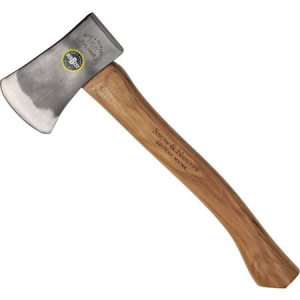 "Snow & Nealley Axes 14 Outdoorsman""s Belt Axe with American Hickory Handle"