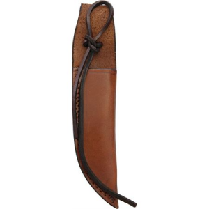 Xyz Brands 1158 Leather Sheath Knife with Brown Leather Construction