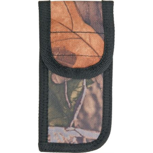 Sheath 270 4 Inch Folding Knife with Camo Finish Nylon Construction