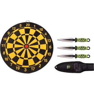 Z-Hunter 155SET Three Piece Throwing Set Fixed Blade Knife