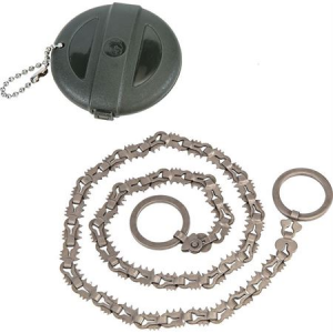 Hooyman 110105 Micro Chain Saw with Steel Ring Handles