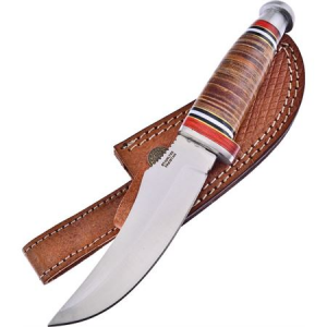 Frost TS203LTHR Bowie Knife with Leather Handle