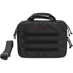 ANTIWAVE 002 Black Chameleon Tactical Bag with 1050D Nylon Construction