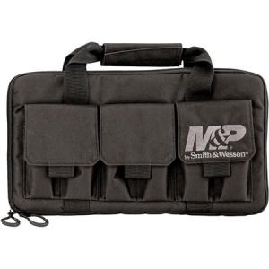 Smith & Wesson MP110029 Pro Tac Handgun Case Double Black