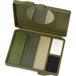 Camouflage Face Paint 4500C Woodland 5 Color Compact
