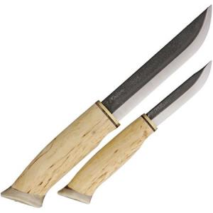 Kellam HM026 Elk Couple Two Set Fixed Blade Knife