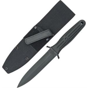 Boker 120543B Applegate-Fairbairn Combat Fixed Blade Knife with Black Fiberglass Reinforced Delrin Handle