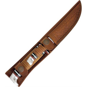 Case 372 Twin Finn Two Piece Set Fixed Blade Knife