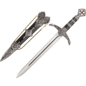 China Made 210868 Medieval Lord's Dagger Fixed Blade Knife