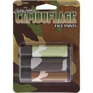 Camouflage Face Paint T3000 Camo Facepaint Sticks