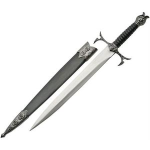 China Made 211348 Skull Dagger Scabbard Fixed Blade Knife