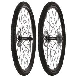 Framed Fattie Slims/Slicks F150/R190 10 Speed Wheel Set