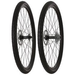 Framed Fattie Slims/Slicks F135/R170 9 Speed Wheel Set