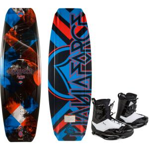 Liquid Force Fusion Grind Wakeboard w/ Ronix Frank Wakeboard Boots