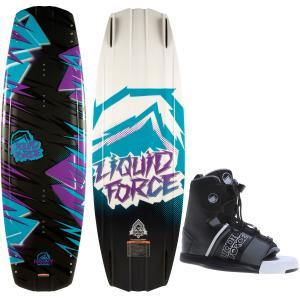 Liquid Force Harley Grind Wakeboard w/ Hyperlite Frequency Bindings