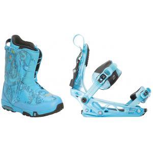 Forum Stampede SLR Snowboard Boots w/ K2 Cinch Tryst Bindings