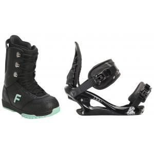 Forum Destroyer Snowboard Boots w/ K2 Charm Bindings