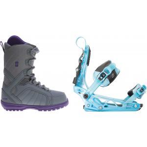 Forum Bebop Snowboard Boots w/ K2 Cinch Tryst Bindings
