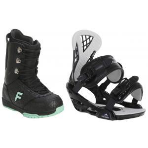 Forum Destroyer Snowboard Boots w/ Chamonix Bellevue Bindings