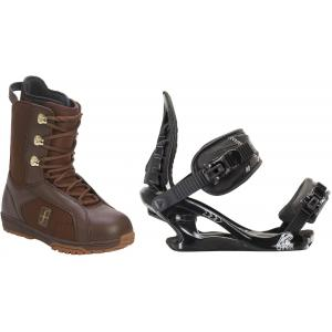 Forum Aura Snowboard Boots w/ K2 Charm Bindings
