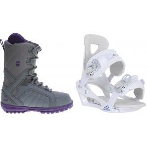 Forum Bebop Snowboard Boots w/ Chamonix Brevant Bindings