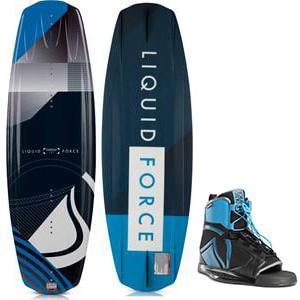 Liquid Force Omega Grind Wakeboard w/ Index Bindings
