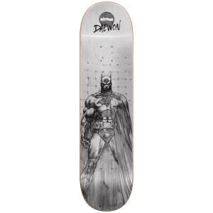 Almost Batman Pencil Sketch Skateboard Deck