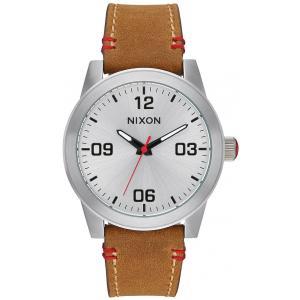 Nixon G.I. Leather Watch
