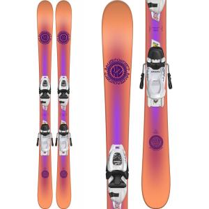 K2 Missconduct Jr Skis w/ Marker FDT 4.5 Bindings