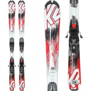 K2 Strike 124 Skis w/ Marker M2 Quikclik Bindings