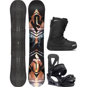K2 Subculture Snowboard Package