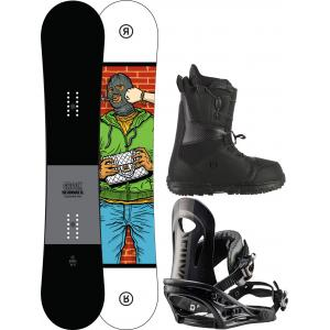 Ride Crook Snowboard Package
