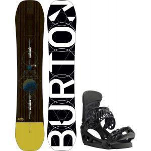 Burton Custom Snowboard w/ Malavita EST Bindings